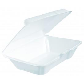 Boîte en FOAM LunchBox Blanc 230x150mm (100 Utes)