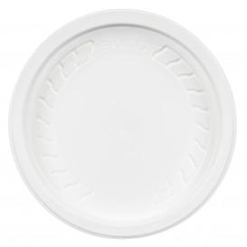 """Couvercle Plastique PP """"Deli"""" Blanc Ø120mm (50 Unités)"""