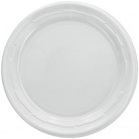 """Assiette en Plastique PS """"Famous Impact"""" Blanc Ø150mm (125 unités)"""