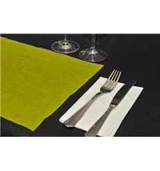 Set de Table en PP Non-Tissé Jaune 30x40 50g (500 Utés)