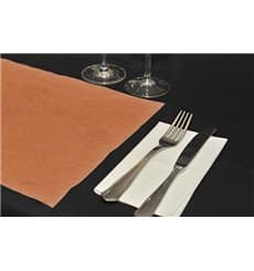 Set de Table en PP Non-Tissé Orange 30x40 50g (500 Utés)