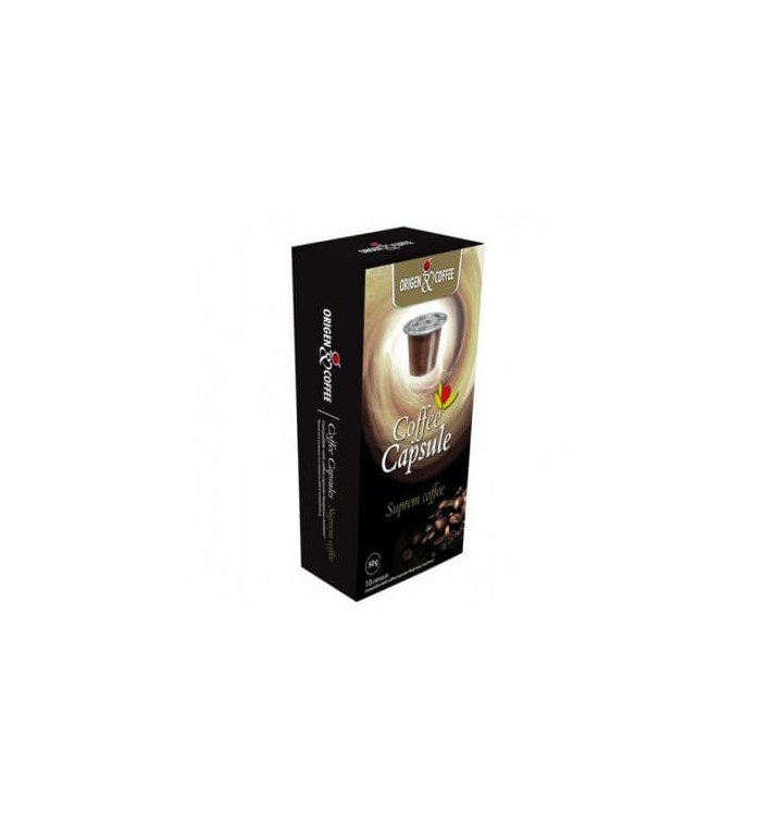 Capsule Nespresso* Compatible  - Café Suprème (10 unités)