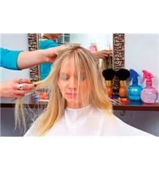 Cape pour Coupe de Cheveux en PP non Tissé SMS  Blanc (200 Utés)