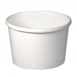 Pot en Carton Blanc 8Oz/273ml Ø9,1cm (25 Utés)