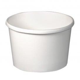 Pot en Carton Blanc 8Oz/273ml Ø9,1cm (500 Utés)