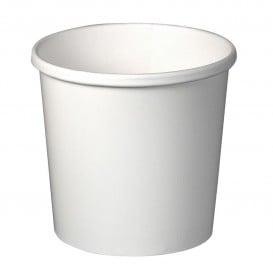 Pot en Carton Blanc 12Oz/355ml Ø9,1cm (500 Utés)