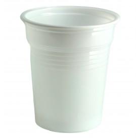 Gobelet Plastique PS Blanc 100ml Ø5,7cm (100 Unités)