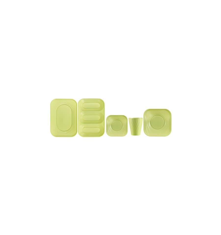 gobelet plastique pp x table citron vert 320ml 8 ut s. Black Bedroom Furniture Sets. Home Design Ideas