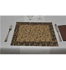 """Set de Table papier 30x40cm Kraft """"Cachemire"""" 50g (2500 Utés)"""