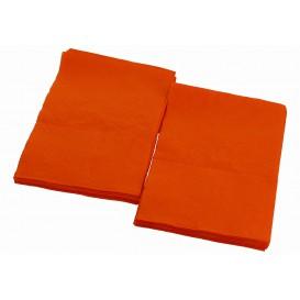Serviette en Papier SNACK Orange 17x17cm (160 Unités)