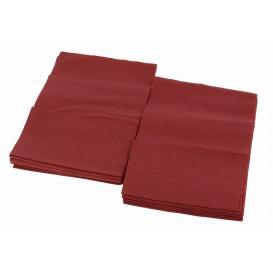 Serviette en Papier SNACK Bordeaux 17x17cm (160 Unités)