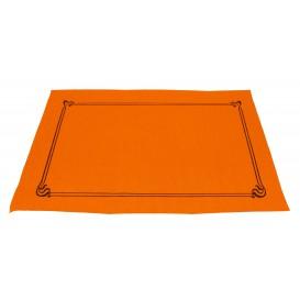 Set de Table papier 30x40cm Orange Orla 40g (1.000 Utés)