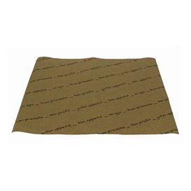 """Set de Table papier 30x40cm Kraft """"Bon Appetit"""" 40g (1.000 Utés)"""