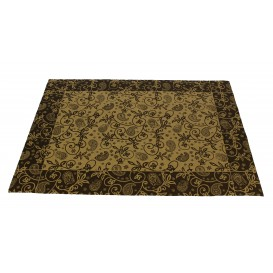 """Set de Table papier 30x40cm Kraft """"Cachemire"""" 50g (500 Utés)"""