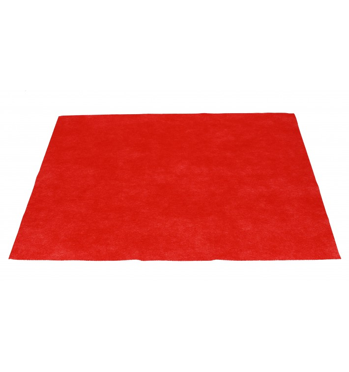 Set de Table en PP Non-Tissé Rouge 30x40cm 50g (500 Utés)