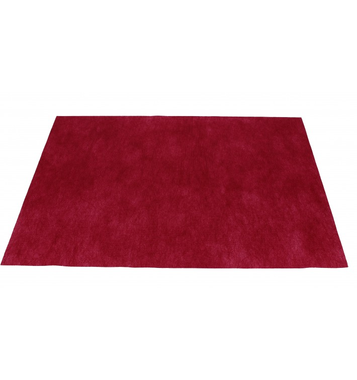 Set de Table en PP Non-Tissé Bordeaux 30x40cm 50g (500 Utés)