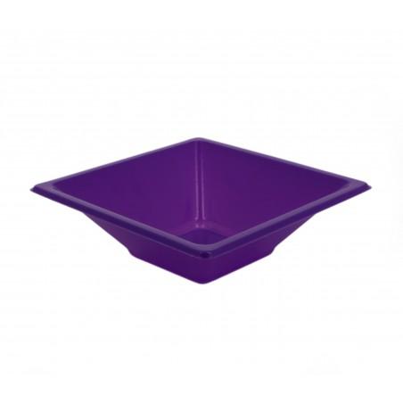 Bol carré en plastique Lilas 120x120x40mm (720 Utés)
