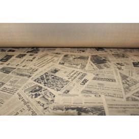 """Nappe papier en ROULEAU """"Presse"""" Kraft 1,2x100m 37g (6 Unités)"""