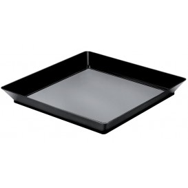 "Plateau Dégustation ""Medium"" Noir 13x13cm (12 Utés)"
