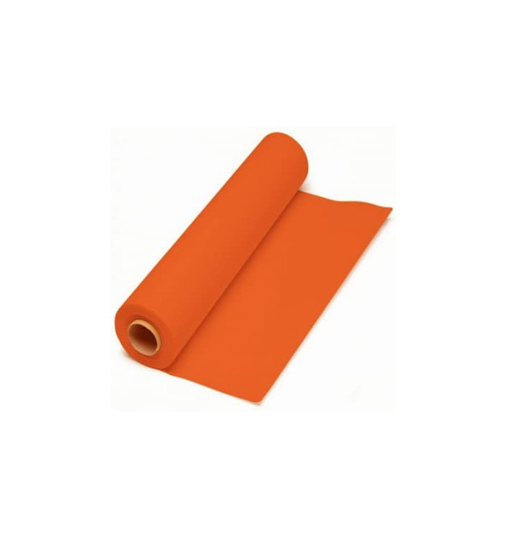 Nappe en papier en Rouleau Orange 1x100m 40g (1 Unité)