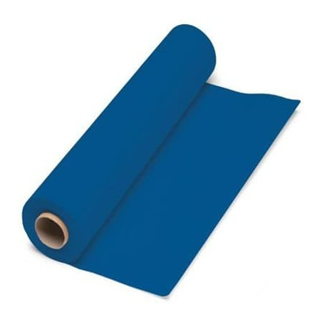 Mantel de papel en rollo Azul 1x100 M. 40g (1 Unidad)