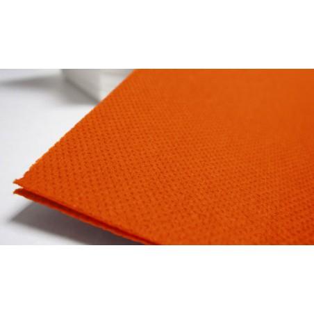Servilleta de papel 40x40 Naranja (paquete 50 Unidades)