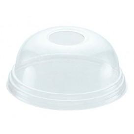 Couvercle Dôme Perforé PET Cristal Ø8,1cm (1000 Unités)