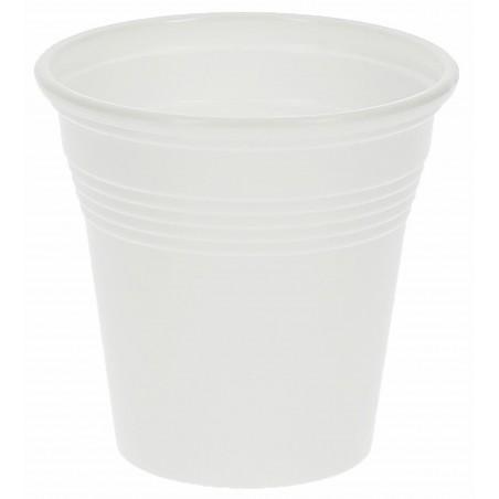 Gobelet Plastique Expresso Blanc 80ml (4.800 Unités)
