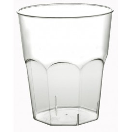 Verre Plastique Cocktail Transp. PS  Ø73mm 200ml (50 Utés)