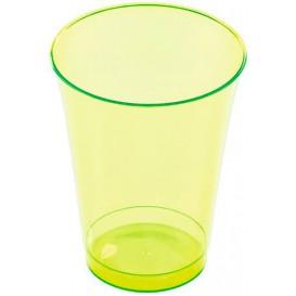 Verre Plastique Vert 230 ml (10 Unités)