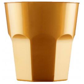 Verre Plastique à Cocktail Or PS Ø73mm 220ml (500 Utés)