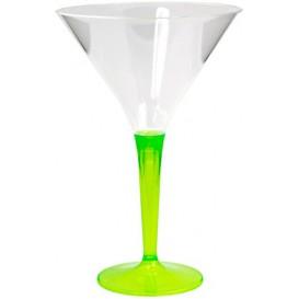 Verre à Cocktail Plastique Vert 100ml (48 Unités)