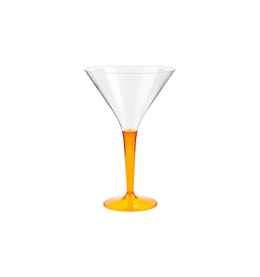 Verre cocktail plastique orange 100ml 48 unit s - Verre a cocktail plastique ...