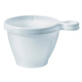 Tasse Plastique Blanche PS 80ml (1.100 Unités)