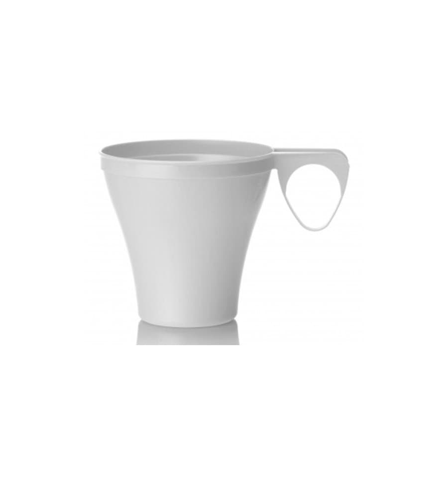 tasse plastique dur blanc 80ml unit s. Black Bedroom Furniture Sets. Home Design Ideas