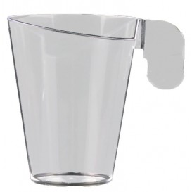 Tasse Plastique Design Transparent 155ml (144 Unités)