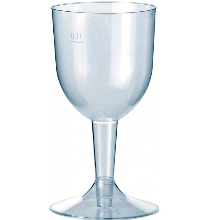 Coupe Jetable Plastique Eau ou Vin 140ml (20 Unités)
