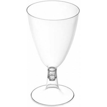 Coupe Jetable Plastique Eau ou Vin 200 ml (3 Unités)