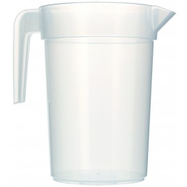 """Carafe d'eau plastique de 1l """"Incassable"""" (10 Unités)"""