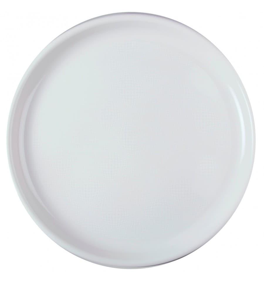 assiette plastique pizza blanc round pp 350mm 12 ut s. Black Bedroom Furniture Sets. Home Design Ideas