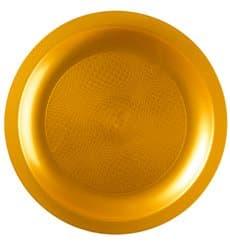 Assiette Plastique Plate Blanc Ø185mm (25 Utés)