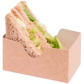 Emballage pour Sandwich Kraft (25 Unités)