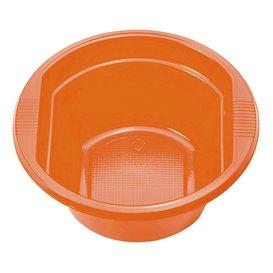 Bol Plastique Orange 250ml (30 unités)
