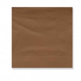 Serviette en Papier Ouate 30x30cm Marron (4500 Utés)