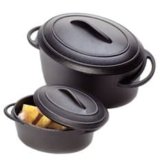 Verrine cocotte Noir avec Couvercle 5x3,5cm 80ml (216 unités)