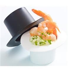 "Sombrero Dégustation""Hot Form"" Blanc PP 60ml (144 Utés)"