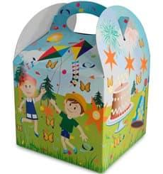 Boîte à Menu Fête 131x131x115mm (25 Utés)