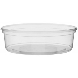 Pot en Plastique Transparent 125ml Ø10,5cm (1.000 Utés)
