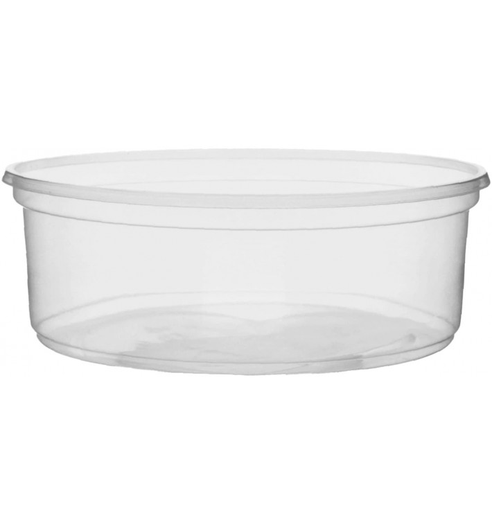 Pot en Plastique Transparent 150ml Ø10,5cm (50 Unités)