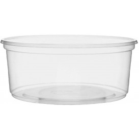 Pot en Plastique Transparent 200 ml Ø10,5cm (1.000 Utés)